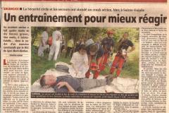 Exercice-Adrasec-Sainte-Eulalie-2006